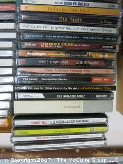 Large Assortment of CD's and DVD's