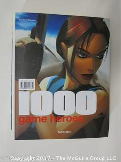 """Book Title: """"1000 Game Heroes"""""""