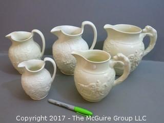 Collection of 5 English Wedgwood of Etruria and Barlaston