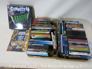 Assorted CD's, DVD's etc.