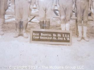 Camp Greenleaf, GA Base Hospital #59; June 4, 1918