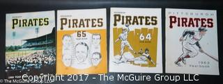 Pittsburgh Pirates yearbooks; 1960's and 1970's