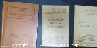 Collection of U. S. Military Books on Cryptography