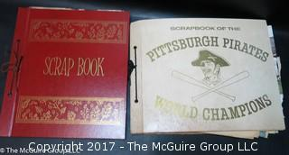 Vintage Pittsburgh Pirates Scrapbooks -1960/s and 1970's