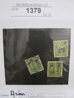 (#1379) Collectible Postage Stamps including world: Asian