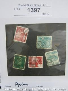 (#1397) Collectible Postage Stamps including world: Asian