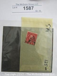 (#1587) Collectible Postage Stamps including U.S. ERROR