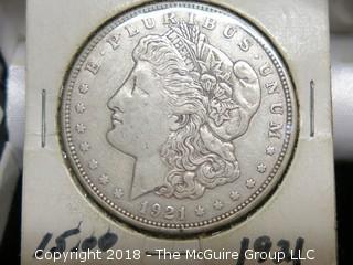 1921 _ MORGAN SILVER DOLLAR