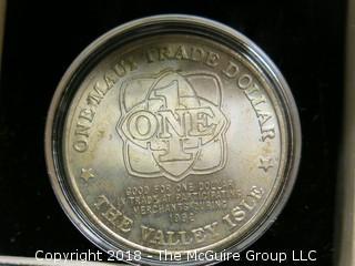 1992 MAUI TRADE DOLLAR