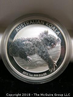 2012 KOALA SILVER DOLLAR
