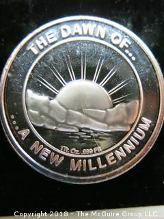 2000 1 TROY OZ SILVER COIN
