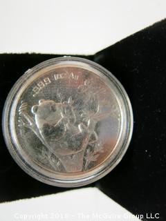 1995 PANDA SILVER 1 TR. OZ COIN