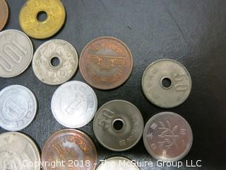 COLLECTION OF FOREIGN COINS; INCLUDING CHINESE