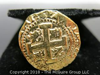 "WYSIWYG COIN looks like a replica of a Crusader/Templar coin ""copy cato"" stamped in column"