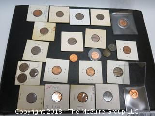 COLLECTION INCLUDING LINCOLN PENNIES