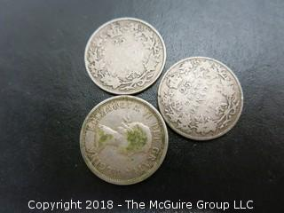 COLLECTION OF 19TH AND 20TH C CANADIAN COINS, INCLUDING SILVER
