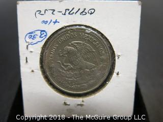 COLLECTION OF FOREIGN COINS INCLUDING MEXICO AND HAITI