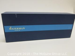 WATERMAN BALL POINT PEN; NIB