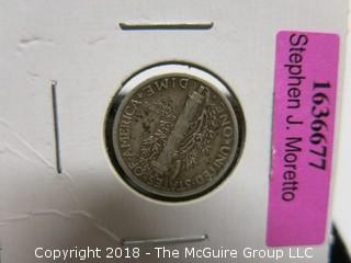COLLECTION OF 3 MERCURY DIMES
