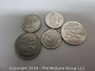 COLLECTION OF COINS INCLUDING ICELANDIC