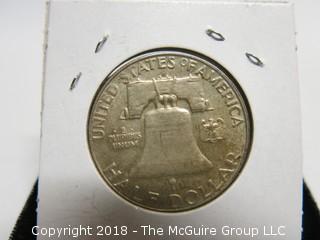1963 SILVER HALF DOLLAR