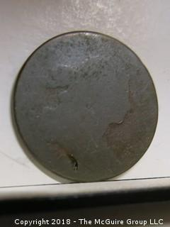 1798 DRAPED BUST LARGE CENT PENNY