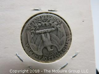1938 S U.S. SILVER QUARTER