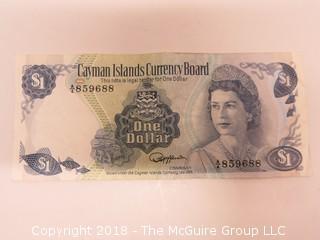 CAYMAN ISLAND BANK NOTE