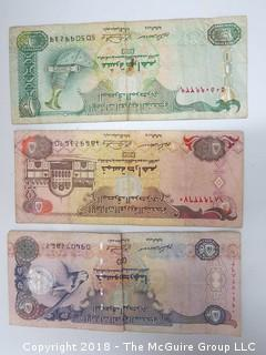 COLLECTION OF EGYPTIAN BANK NOTES