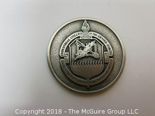 INDUSTRIAL COLLEGE OF THE ARMED FORCES MEDALLION