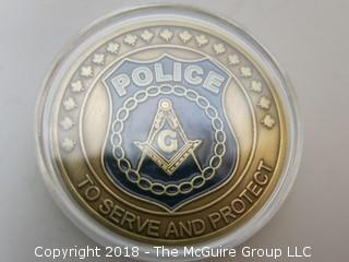 POLICE MEDALLION