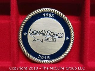 1965-2015 SEA AIR SPACE MEDALLION