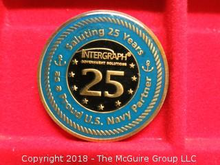 U S NAVY MEDALLION; INTERGRAPH GOVERNMENT SOLUTIONS