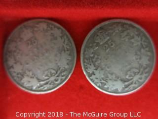 COLLECTION OF CANADIAN COINS OF 19TH AND 20TH C