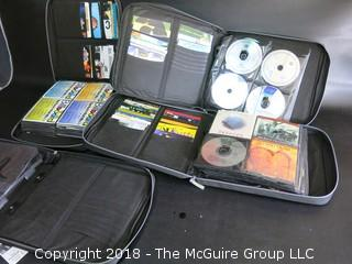 Collection of CD's and DVD's