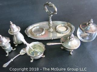 Silver tablewares including sterling