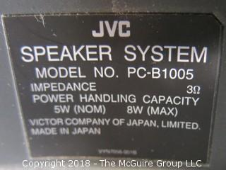 JVC Portable Twin CD  PC-XT3 with speakers