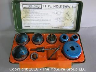 11 piece hole set