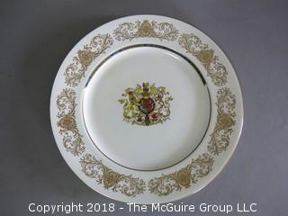 Princes of Wales Commemorative Plate; made by Aynsley, England