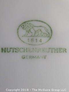 Pair of Hutschenreuther Dinner Plates