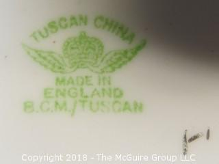 Collection of Tuscan China, made in England