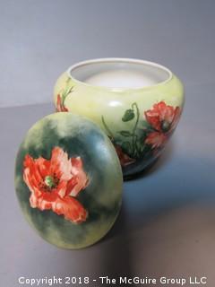 Hand Painted Urn; signed K. A. Mersch; France