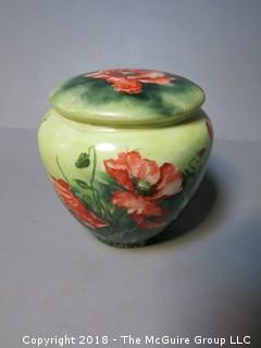 Hand Painted Urn; signed K. A. Mersch; France