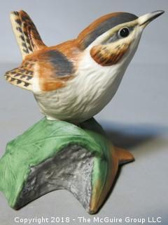 Boehm Porcelain Wren Bird