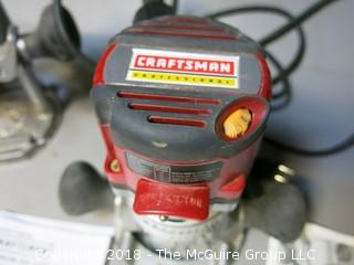 Craftsman Professional Router; 14 amp; variable speed 2 1/2 HP