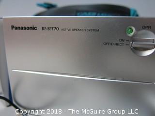 Panasonic RD - SPT 70 Active Speaker System
