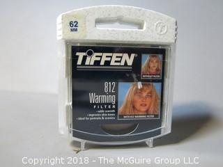 Tiffen Camera Lens Filter: 62mm 812 Filter