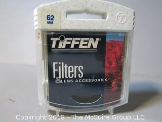 Tiffen Camera Lens Filter; 62mm Sepia 2