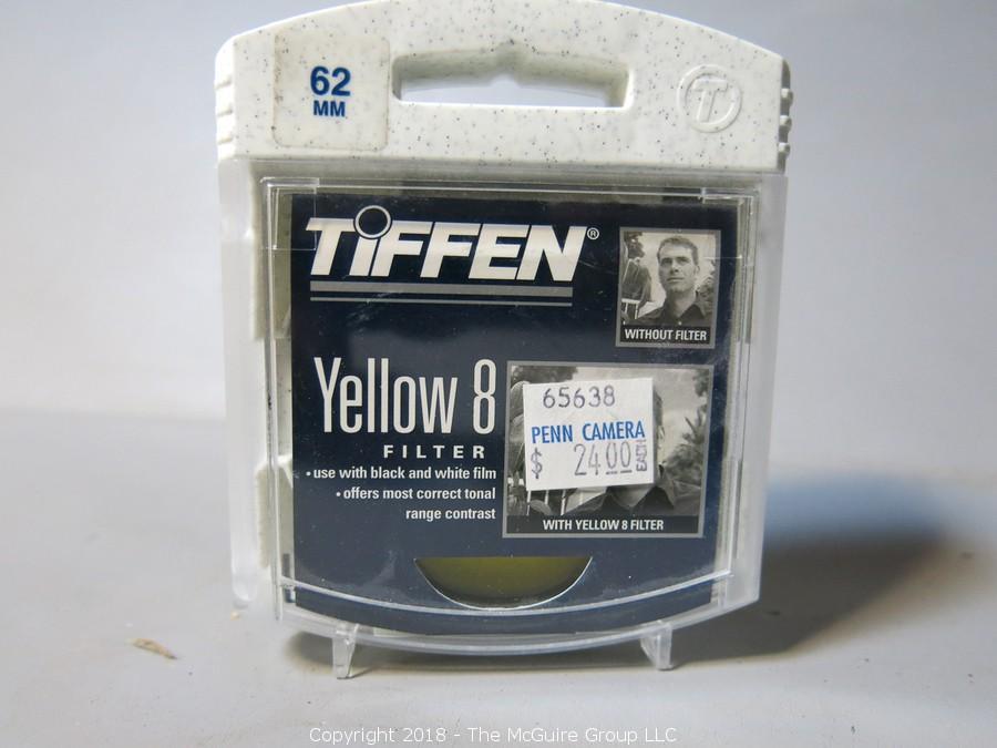Yellow Tiffen 58mm 12 Filter