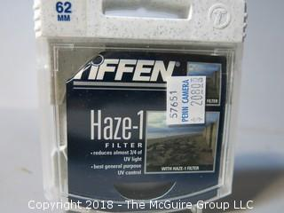 Tiffen Camera Lens Filter; Haze -1